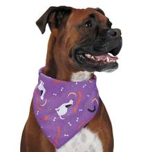 Aria Happy Howl-O-Ween Dog Bandana - Purple