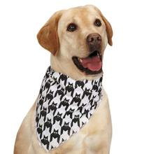 Aria Houndstooth Bat Dog Bandana