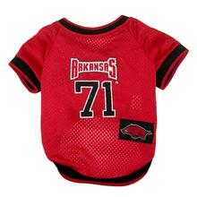 Arkansas Razorbacks Dog Jersey - # 71 with Patch