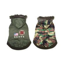 Army Dog Coat by Dogo - Green