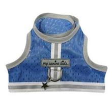 Athletic Mesh Dog Vest Harness - Blue