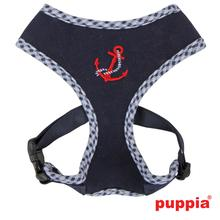 Atticus Dog Harness by Puppia - Navy