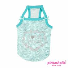 Aura Dog Tank by Pinkaholic - Aqua