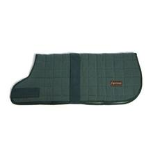 Aussie Naturals Quilted Cotton Dog Coat - Hunter Green