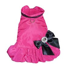 Ava City Dog Coat - Hot Pink