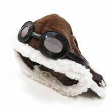 Aviator Dog Hat by Dogo - Brown