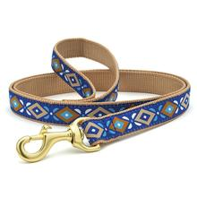 Aztec Blue Dog Leash by Up Country