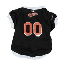 Baltimore Orioles Baseball Dog Jersey - White Trim