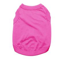 Barking Basics Dog Tank Shirt - Dark Pink