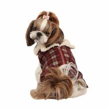 Barron Winter Dog Jacket by Puppia - Wine