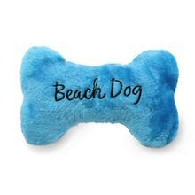 Beach Dog Bone Dog Toy - Blue