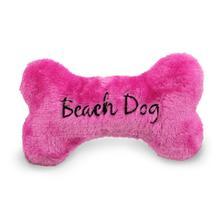 Beach Dog Bone Dog Toy - Pink