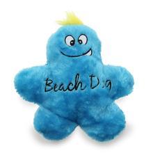 Beach Dog Man Dog Toy - Blue