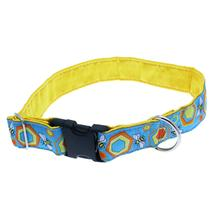 Bees Satin Lined Dog Collar