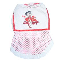 Betty Boop D-Heart Bib Dog Dress