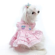 Birthday Cupcake Dog Dress by Oscar Newman