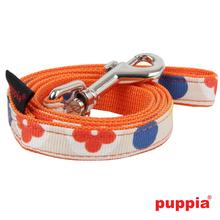 Blossom Dog Leash by Puppia - Orange