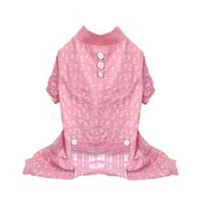 Bones Dog Pajamas - Pink