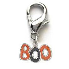 BOO! Dog Collar Charm
