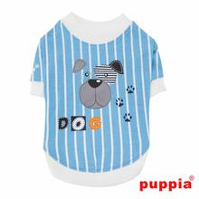 Boomer Dog Shirt by Puppia - Blue