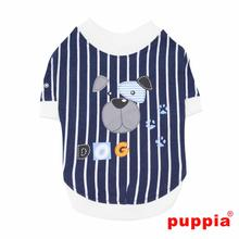Boomer Dog Shirt by Puppia - Navy Blue