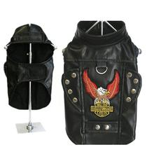 Born To Ride Motorcycle Harness Jacket - Black