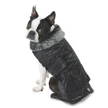 Boston Dog Parka - Black