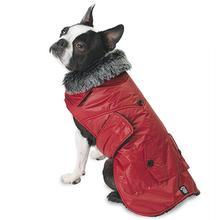 Boston Dog Parka - Red