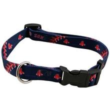 Boston Red Sox Baseball Printed Dog Collar