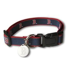 Boston Red Sox Reflective Dog Collar
