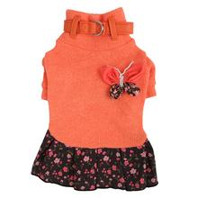 Bounty Dog Dress by Pinkaholic - Orange