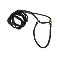 Braided Martingale Show Lead - Black