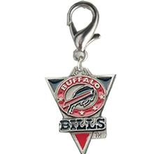 Buffalo Bills Pennant Dog Collar Charm