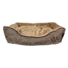 Cabana Lounger Dog Bed - Brown