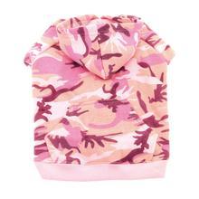 Camo Hoodie - Pink