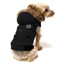 Canada Fouse Winter Dog Coat - Black