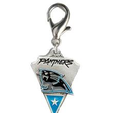 Carolina Panthers Pennant Dog Collar Charm