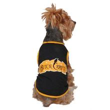Casual Canine Bitch Craft Dog T-Shirt - Black