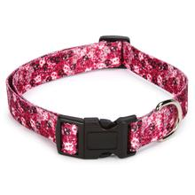 Bone Heads Dog Collar - Pink