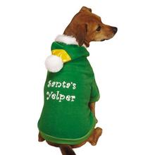 Casual Canine Elf Dog Hoodie - Green