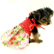 Casual Canine Hawaiian Breeze Dog Dress