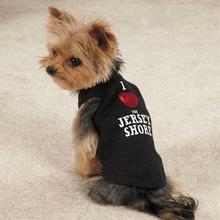 Jersey Shore Dog Tank - Black