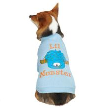 Casual Canine Lil Monster Dog T-Shirt - Blue