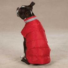 North Paw Puffy Dog Vest - Red