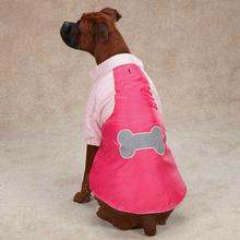 Casual Canine Nylon Snow Dog Parka - Raspberry