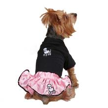 Casual Canine Poodle Skirt Dog Set