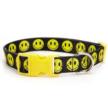 Casual Canine Smiley Face Dog Collar