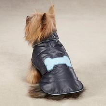 Casual Canine Snow Puff Dog Vest - Navy