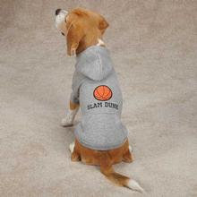 Sports Hound Dog Hoodie - Basketball