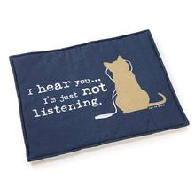 Cat is Good Cat Mat - Blue